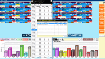 Hurtownia danych screenshot aktualne przegląd paragonów